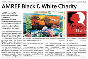 amref black & white charity